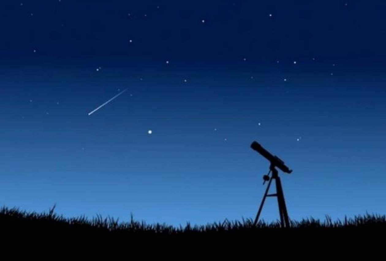 «Βροχή» αστεριών απόψε στον ουρανό