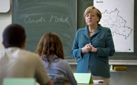 Γερμανία: «Μάθημα» για το Τείχος του Βερολίνου από τη Μέρκελ