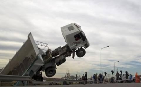 Όταν το λεωφορείο έκατσε... σούζα (pics)