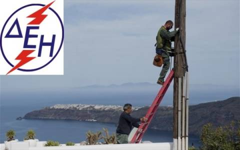 Πυρετώδεις οι προσπάθειες στην  Σαντορίνη–Πρόγραμμα διακοπών ρεύματος