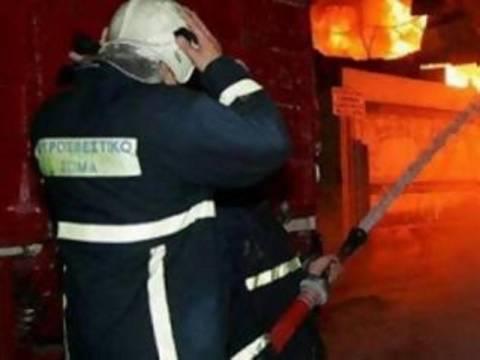 Ένας τραυματίας από την φωτιά στα Κάτω Πατήσια