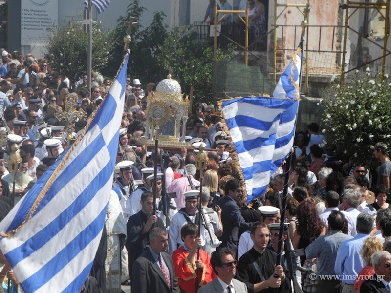 Λαμπροί εορτασμοί για τη γιορτή της Παναγίας στην Τήνο (pics)