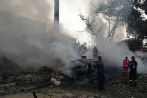 Ισχυρή έκρηξη σε νότια συνοικία της Βηρυτού