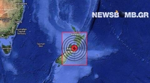 Ισχυρός σεισμός 6,8 Ρίχτερ στη Νέα Ζηλανδία