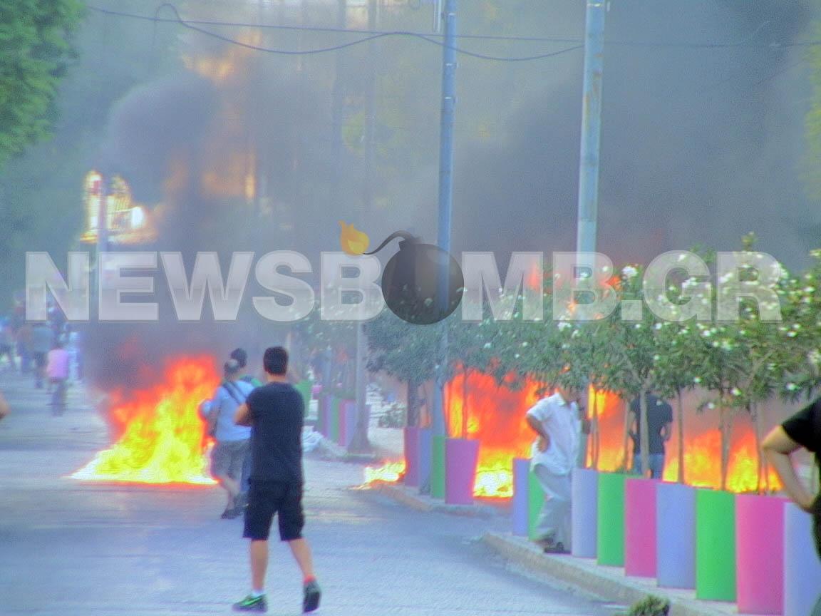 Ομαλοποίηση στο Περιστέρι-Άνοιξαν ΜΕΤΡΟ και δρόμοι
