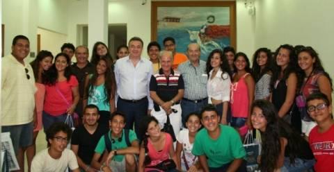 Στον Περιφερειάρχη Κρήτης 30 παιδιά από την Ιορδανία