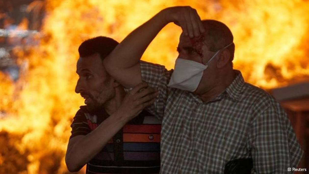 DW: Ρεπορτάζ στην αιματοβαμμένη πλατεία Ταχίρ