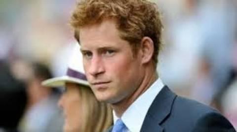 Οργισμένος ο πρίγκιπας Χάρι