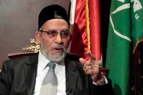 Συνελήφθη ο ανώτατος καθοδηγητής της Μουσουλμανικής Αδελφότητας