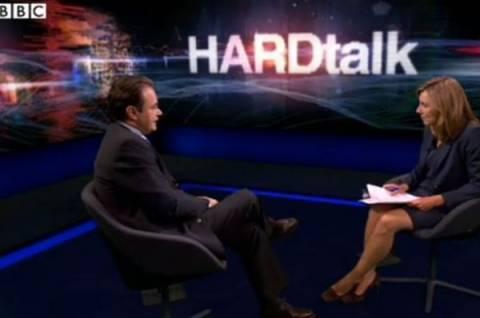 Παπακωνσταντίνου στο BBC: Το ξέρω ότι με μισούν στην Ελλάδα!