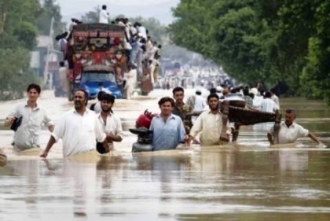 Πακιστάν: 165 νεκροί και 1,3 εκατομμύριο πληγέντες από τις πλημμύρες