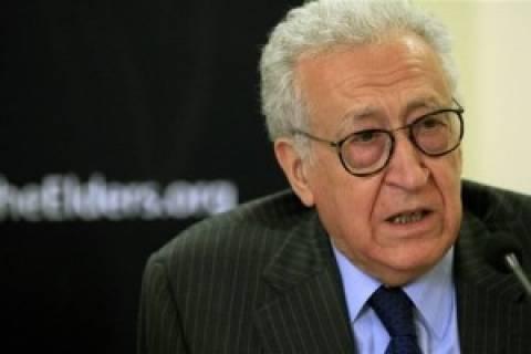 Μπραχίμι: «Η μεγαλύτερη απειλή για την ειρήνη είναι η συριακή σύρραξη»