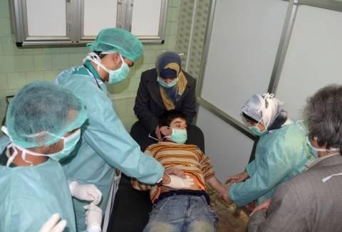 Η κυβέρνηση της Συρίας δηλώνει ότι δεν έκανε χρήση χημικών