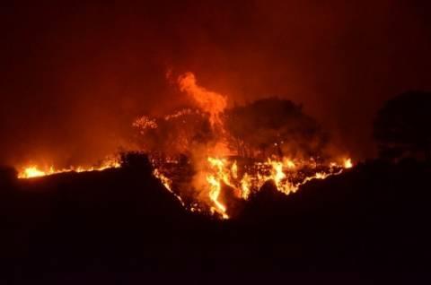 Σύλληψη για πυρκαγιές στη Ρόδο