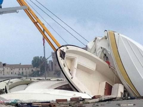 Σφοδρή κακοκαιρία πλήττει την Ιταλία