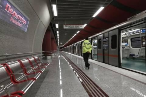 Τέλος Σεπτεμβρίου θα παραδοθεί ο νέος σταθμός του μετρό στο Χαϊδάρι