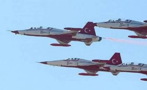 Νέα πρόκληση στο Αιγαίο από τουρκικά αεροσκάφη