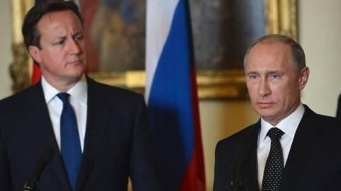 Τηλεφωνική συνομιλία Πούτιν-Κάμερον για την Συρία