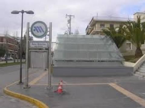 Με δύο μήνες καθυστέρηση ο σταθμός μετρό στην Αγία Μαρίνα στο Χαϊδάρι