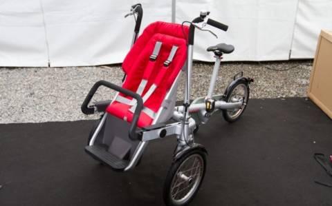 Το ποδήλατο που μετατρέπεται σε κούνια (pics & video)