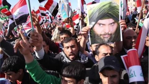 Στους δρόμους οι Ιρακινοί–Διαμαρτύρονται για τις βουλευτικές συντάξεις