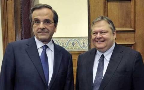 Σε εξέλιξη η συνάντηση Σαμαρά–Βενιζέλου για Συρία και προγρ. συμφωνία