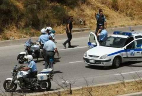 Αστυνομική καταδίωξη εναντίον κακοποιών στην Ε.Ο. Αθηνών-Πατρών