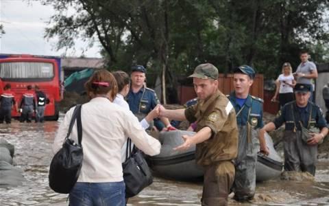 Ρωσία: «Κόκκινος συναγερμός» για 250.000 κατοίκους