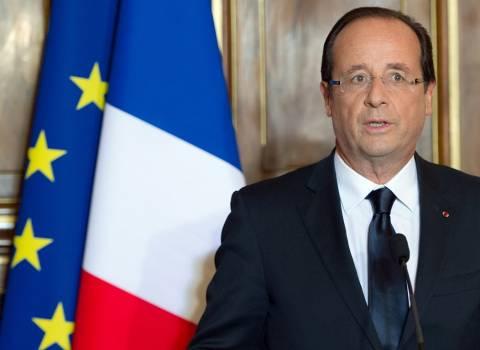 Ολάντ: Η Ευρώπη να ενώσει τις δυνάμεις της απέναντι στη Συρία