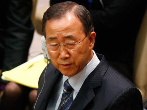 Μπαν Γκι-Μουν: Ενωμένο το ΣΑ του ΟΗΕ να αναλάβει δράση για τη Συρία