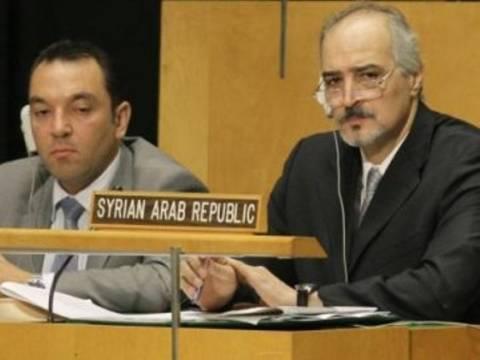 Σύρος πρεσβευτής στον ΟΗΕ: Η κυβέρνηση θέλει να βρεθεί ειρηνική λύση