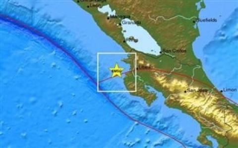 Σεισμός 6 Ρίχτερ στην Κόστα Ρίκα