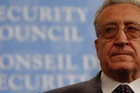 Μπραχίμι: Καμία επέμβαση στη Συρία χωρίς έγκριση από το ΣΑ του ΟΗΕ