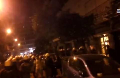 ΤΩΡΑ: Ένταση στην Θεσσαλονίκη