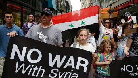 Όλο και πιο αρνητικοί οι Αμερικάνοι σε ενδεχόμενη επίθεση στη Συρία