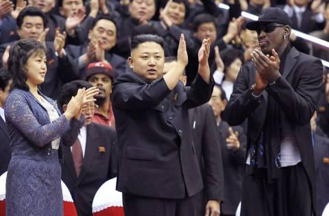 Ρόντμαν: Η διπλωματία του... μπάσκετ θα φέρει κοντά Β. Κορέα και ΗΠΑ