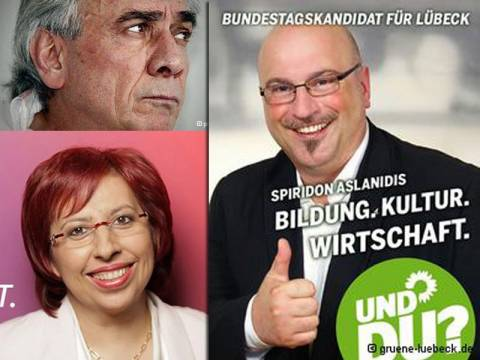 Τρεις Έλληνες υποψήφιοι στις γερμανικές εκλογές