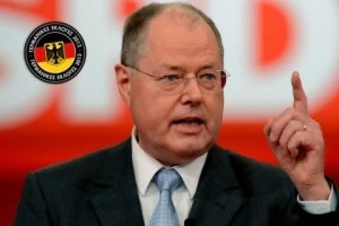 Γερμανία: Σε ερωτήσεις τηλεθεατών θα απαντήσει ο Στάινμπρουκ
