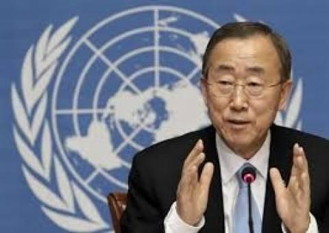 Μπαν Γκι-Μουν:Συλλογική αποτυχία του ΟΗΕ η διάπραξη ωμοτήτων στη Συρία