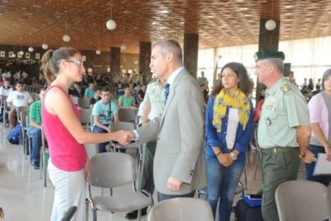 Επίσκεψη ΥΦΕΘΑ  Αθ. Δαβάκη στην Στρατιωτική Σχολή Ευελπίδων