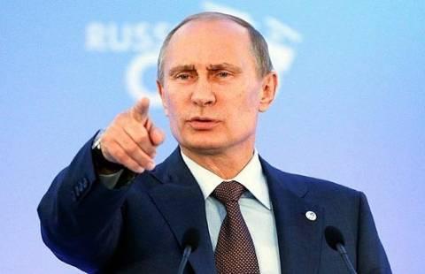 Πούτιν: Οι αντάρτες χρησιμοποίησαν χημικά για να προκαλέσουν τις ΗΠΑ