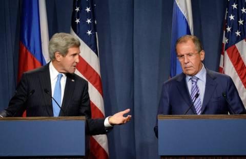 Συνάντηση Κέρι-Λαβρόφ-Μπραχίμι για τη Συρία