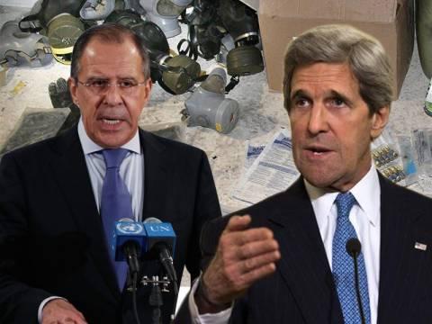 Καταστροφή των χημικών όπλων αποφάσισαν ΗΠΑ και Συρία