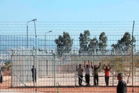 Πορεία διαμαρτυρίας κατά του κέντρου κράτησης Αμυγδαλέζας