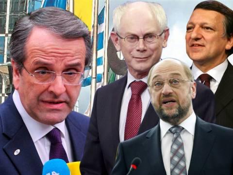 Τι προσδοκά ο Σαμαράς από την επίσκεψη στις Βρυξέλλες