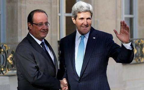 Γαλλία: Συνάντηση Ολάντ - Κέρι για την Συρία