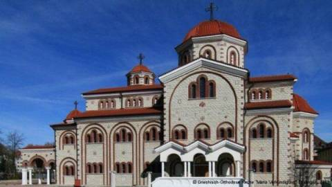 H ελληνική εκκλησία του Ευαγγελισμού στο Έσλινγκεν