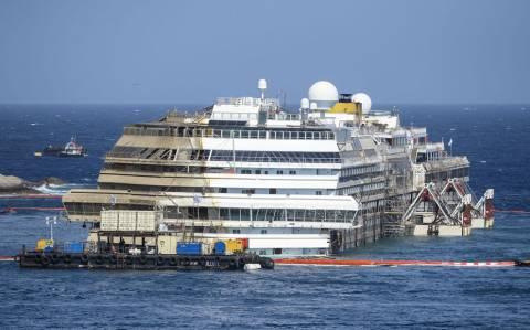 Δείτε σε time-lapse την προσπάθεια ανόρθωσης του Costa Concordia