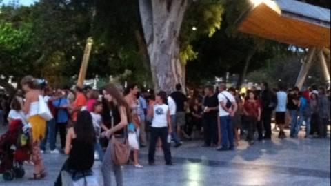 Ηράκλειο: Σε εξέλιξη συγκέντρωση για τη δολοφονία του Παύλου Φύσσα