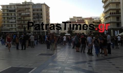 Πάτρα: Επεισόδια στην πορεία των αντιεξουσιαστών